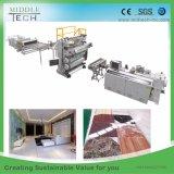 Prix de gros de la Chine en matière plastique Feuille en faux marbre artificiel en PVC/board/profil fournisseur de l'extrudeuse de la machine