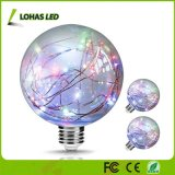Ampola do globo Multi-Colored das luzes feericamente E26 3W para as barras Home dos cafés do partido que Wedding