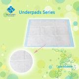아기 배려 60*60cm를 위한 처분할 수 있는 변화 Underpad