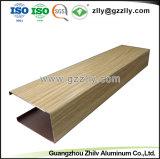 Material de construcción de alta calidad el deflector de techo panel de aluminio