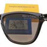 Venda por grosso de marca personalizada artesanais durável OEM óculos de sol da estrutura do PC