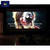 X-Yスクリーンの映画館の輪郭106インチの斜めの柔らかく白い固定わくプロジェクタースクリーン