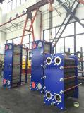 Cambiador de calor del libre flujo para el líquido que contiene los sólidos, la partícula, fibras o el material viscoso