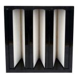 Filter van de Bank HEPA van de Plooi Compacte V van Ventilaton de Mini voor Reinigingsmachine Vacumn