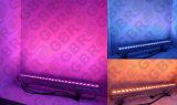 옥외 LED 벽 Strip/24PCS*3W LED 강선 벽 세척 빛
