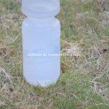 Hochwertiger Plastiksport-weiße trinkende Flasche