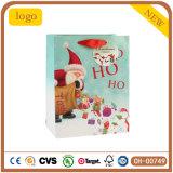 クリスマスのギフトの木靴のHo Ho Hoの木靴の老人の紙袋