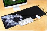 Impression estampée polychrome lavable faite sur commande de couvre-tapis de souris de suède