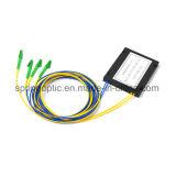 2*2 Caixa de ABS divisor PLC de fibra óptica com LC/APC moldado 2,0mm 1m G657A