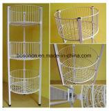 Boutique des épiceries au détail de l'acrylique étagère 3 niveaux d'affichage promotionnel Stand