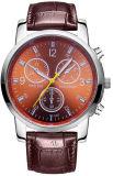 Heißer Verkaufs-kundenspezifische neue Form-Genf-Art-Edelstahl-Armbanduhren