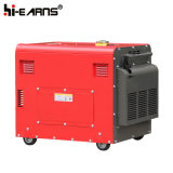 8 квт Air-Cooled Silent тип питания дизельного генератора цена (DG8500SE)