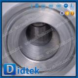 Didtek refinería de petróleo de la válvula de bola flotante de brida