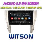 """Witson 10.2 """" Toyota Camry 2015년을%s 큰 스크린 인조 인간 6.0 차 DVD"""
