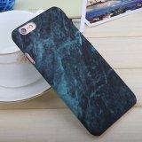 Het harde Geval van de Telefoon van de Textuur van het Graniet van PC Marmeren Glanzende voor iPhone 6/7