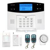 Seguridad inalámbrica de casa inteligente sistema de alarma GSM antirrobo
