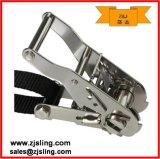"""Двойной J-образные крюки строп храповой тали 1"""" x 10' из нержавеющей стали (индивидуально)"""