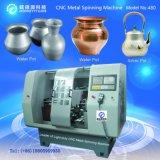 만들기의 영상 은 남비에 의하여 사용되는 자동적인 CNC 회전시키는 공구 (Light-duty 480C-2)를