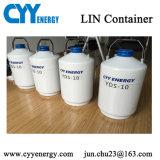 Récipient d'entreposage cryogénique transportable d'azote liquide pour la conservation de sperme