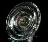 Isolador de vidro da suspensão padrão do disco