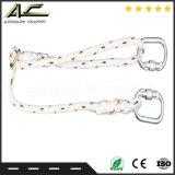 Tipo guida riga flessibile corda di Anchorage del parascintille di caduta del cavo di sicurezza