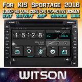 Lettore DVD stereo radiofonico di Witson Windows per KIA Sportage 2016
