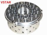 Haute précision en acier plaqué d'usinage CNC de la partie de machines automatiques