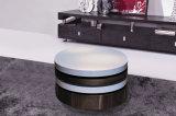 MDF del blanco de la sala de estar popular y muebles modernos de la mesa de centro de la chapa (CJ-M057F)