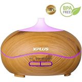 Nuovo diffusore chiaro di legno progettato dell'olio essenziale dell'aroma 300ml del reticolo LED