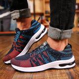 2017 chaussures occasionnelles de toile d'hommes respirables en gros de chaussures exécutant des chaussures de sport