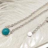 De vastgestelde Halsband van de Parel van de Steen van de Kleur van Juwelen voor Online Markt