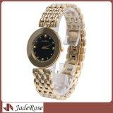 Edelstahl-Qualitäts-Diamant-Dame-Uhr, Frauen-Armbanduhren