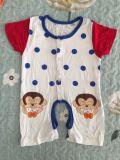 아기 Antifouling 트림 피복을%s 여자 아기 t-셔츠 피복 면 완벽한 적합
