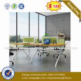 (UL-NM096) Poste de travail en bois de partition de bureau de personnes des meubles de bureau de forces de défense principale 4