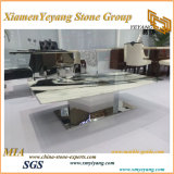 中国磨かれたPanadaの白い大理石の平板