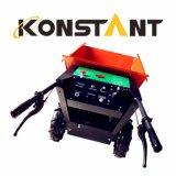 Mini carrinho de mão elétrico a pilhas do descarregador do carregador para o transporte da construção