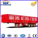 Reboque da estaca de 3 eixos/da cesta caminhão Semi para o transporte