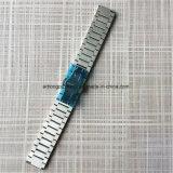 ブラシをかけられた固体ステンレス鋼の時計バンド