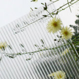 Hoja del policarbonato de la depresión de la pared del gemelo del estilo de China para la azotea