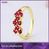 De kleine Ringen van de Vinger van de Vrouwen van het Ontwerp van het Gouden Plateren Eenvoudige