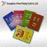 Cartões de jogo educacionais personalizados do cartão para miúdos