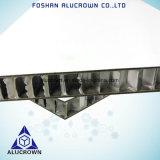 Ignifugé aluminium HPL Honeycomb Panneau de base pour les navires de partitions de paroi