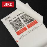 La logística respetuosa del medio ambiente del papel termal etiqueta las escrituras de la etiqueta de envío para la impresora portable
