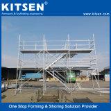 Armatura d'acciaio fornita del sistema di Ringlock della piattaforma di lavoro di accesso di altezza