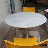 大理石の石造りの食事の家具のレストランのコーヒーテーブル