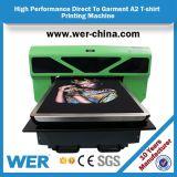 Changhaï A2 petit DTG dirigent vers l'imprimante de vêtement