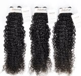 Peruanisches lockiges unverarbeitetes Jungfrau-Haar für Salon (Grad 9A)