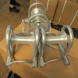 يغلفن فولاذ مستقيمة كبل بكرة لأنّ كبل يسحب عمل