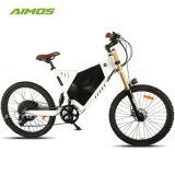 山のタイヤが付いているAimosの工場速い48V 2000W電気自転車