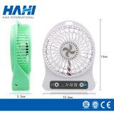 Heißer Verkaufs-bunter mini nachladbarer handlicher Ventilator